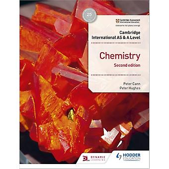 Cambridge International AS  A Level Chemistry Students Boo by Peter Cann