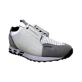 Emporio Armani Bivone Leather White Sneaker Trainer