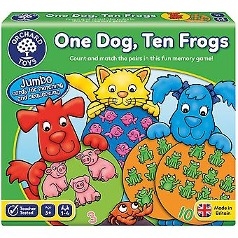 Orchard Toys One Dog Ten Frogs