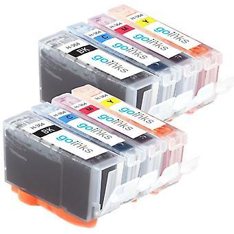 2 ensembles compatibles de 4 cartouches d'encre d'imprimante HP 364 (HP364XL)