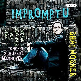 Beethoven / Chopin / Dvorak / Wosner, Shai - Impromptu [CD] USA import