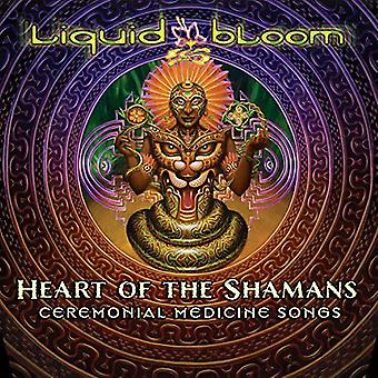 Liquid Bloom - Heart of the Shamans: Ceremonial Medicine Songs [CD] USA import