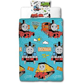 Thomas And Friends Ride On Single Duvet Cover