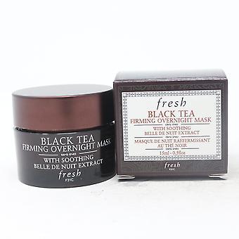 Fresh Black Tea raffermissant masque de nuit 0.5oz/15ml Nouveau avec boîte