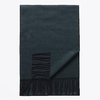 Eton  - Wool Scarf - Dark Green