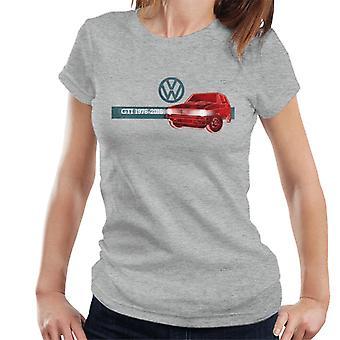 Volkswagen Golf GTI History Women's T-Shirt