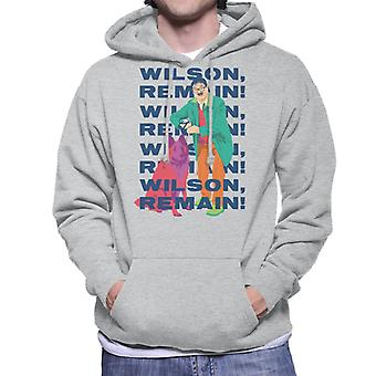 Friday Night Dinner Wilson Remain Men's Hooded Sweatshirt
