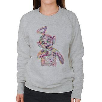 Teletubbies Twinky Winky Fluidline Design Women's Sweatshirt