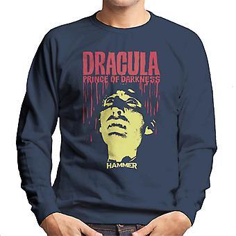 Sweat-shirt homme marteau Dracula Prince des ténèbres affiche