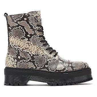 Bronx Rifka Womens Snake Platform Boots