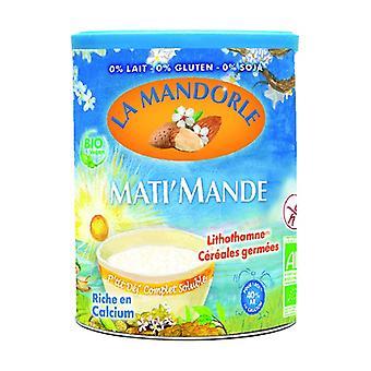 Matis apos; Mande P-apos;seja milk d'apos;amandel met gekiemde granen 'Fleur O germ'quot; Bio 400 g poeder