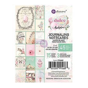 Prima Marketing Dulce 3 x 4 Zoll Journaling Karten