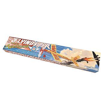 Kit d'assemblage d'avion modèle Balsa Flying Viper - Cadeau en boîte