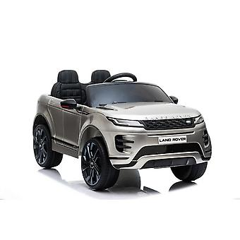 ES-Toys Kids Electric Car Land Rover Discovery 5, Leather Seat EVA Tire Radio