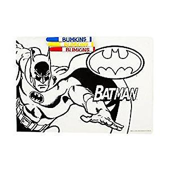 Silicone Coloring Placemat - DC Comics - Batman New CM-WBBM