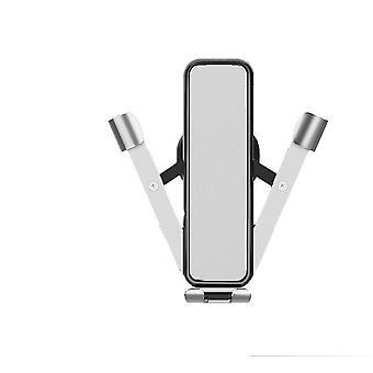Mobiltelefon tartó autó gravitációs - Ezüst