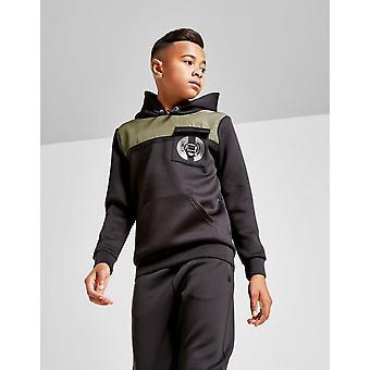 Nieuwe Supply & Demand Boys' Defence Overhead Hoodie Zwart