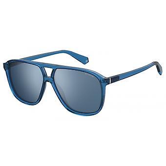 نظارات شمسية Unisex 6097/Spjp/XN التجريبية الأزرق / الأزرق