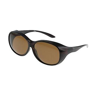 Sunglasses Women transfer brown with brown lens VZ0017B