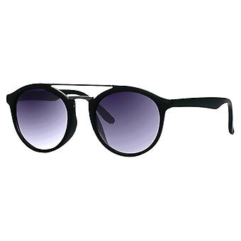 Sunglasses Unisex matt black with grey lens (ml-6600)