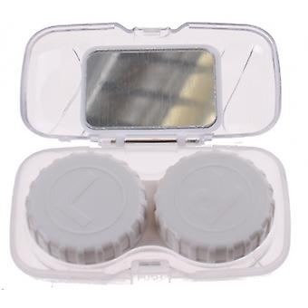 Lens box Unisex travel set transparent