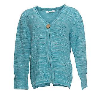 NorthStyle Women's Sweater Versatile Cardigan Ocean Blue