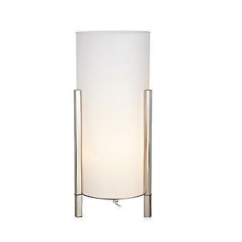 1 Light Indoor Table Lamp Steel, E14