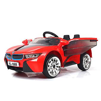 rideontoys4u unlicenced red bmw i8 style 2 x 6v electric ride on with remote