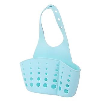 Pesuallas Asennettu Pvc Drain Basket-soap/sponge Holder Bag