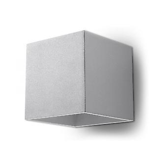 Seinävalaisin Quad 1 Harmaa