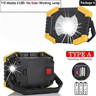 100w Led Work Light 180 Gradi Lanterne regolabili con batteria integrata