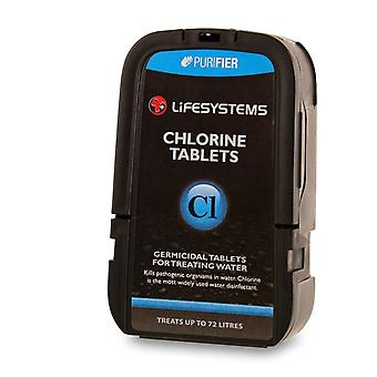 Lifesystems Chlorine Tablets for Water Purification (Pack of 60)