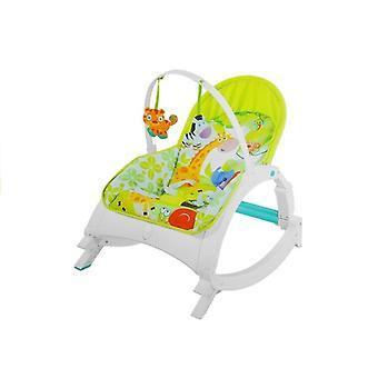 Mecedora para recién nacidos y Toodler Colorido vibrando con juguetes