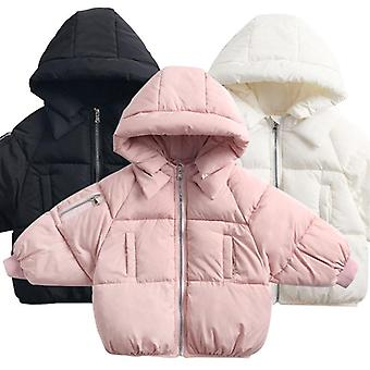 Children's Casual Outerwear Coat Winter Warm Hooded Jacket