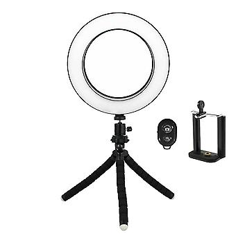 Selfie Lamp/Ring Light (16 cm) with mallable stand