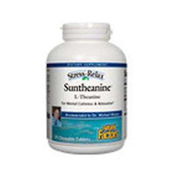 Luonnolliset tekijät Stress-Relax Suntheanine -L-Theanine, 120 Purutablettia