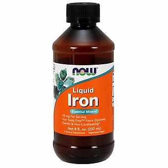 Now Foods Liquid Iron, 8 Oz
