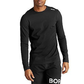 Bjorn Borg Mens 2020 Arli Moisture Wicking Stretch Pitkähihainen T-paita