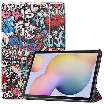 Slim Fit Cover Case für Samsung Galaxy Tab S7 - Graffiti