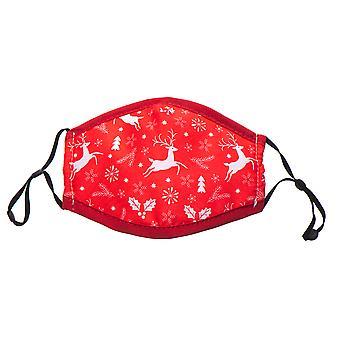 غطاء الرأس عيد الميلاد مع حلقات من القطن القابل للغسل - نموذج 2