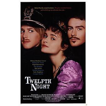 Plakat filmowy Wieczór Trzech Króli (11 x 17)