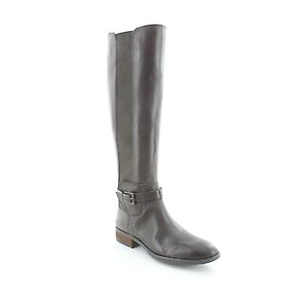 فينس كاموتو النساء بيبر الجلود اللوز تو الركبة أحذية الأزياء الراقية