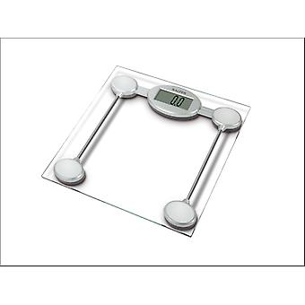 Salter Electronic Bathroom Glass Scale 9018SSVR3R
