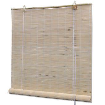 Bamboo roller blind 100 x 220 cm natural