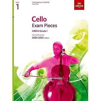 Cello Exam Pieces 2020-2023, ABRSM Grade 1, Score & Part: Selected from the 2020-2023 syllabusa (ABRSM Exam Pieces)
