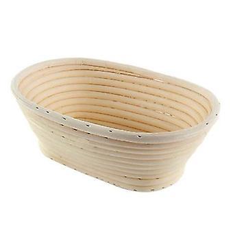 Natural Rattan Bread Fermentation Basket - Kodin leivonnaisten työkalu leivonnaiset