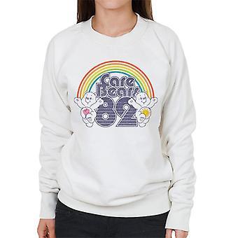Pflege Bären 82 Regenbogen Funshine Bär und Teilen Bär Frauen's Sweatshirt