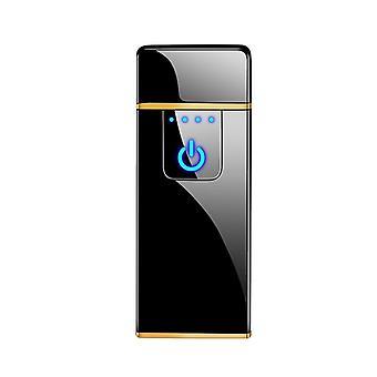 Fingerprint Induction Charging - Windproof Electronic Cigarette Lighter