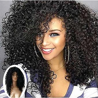 Wig Synthetic Hair Women's Curly Hair Arfo Kinky Curly Wig