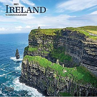 أيرلندا 2021 مصغرة 7X7 التقويم بواسطة براونتروت